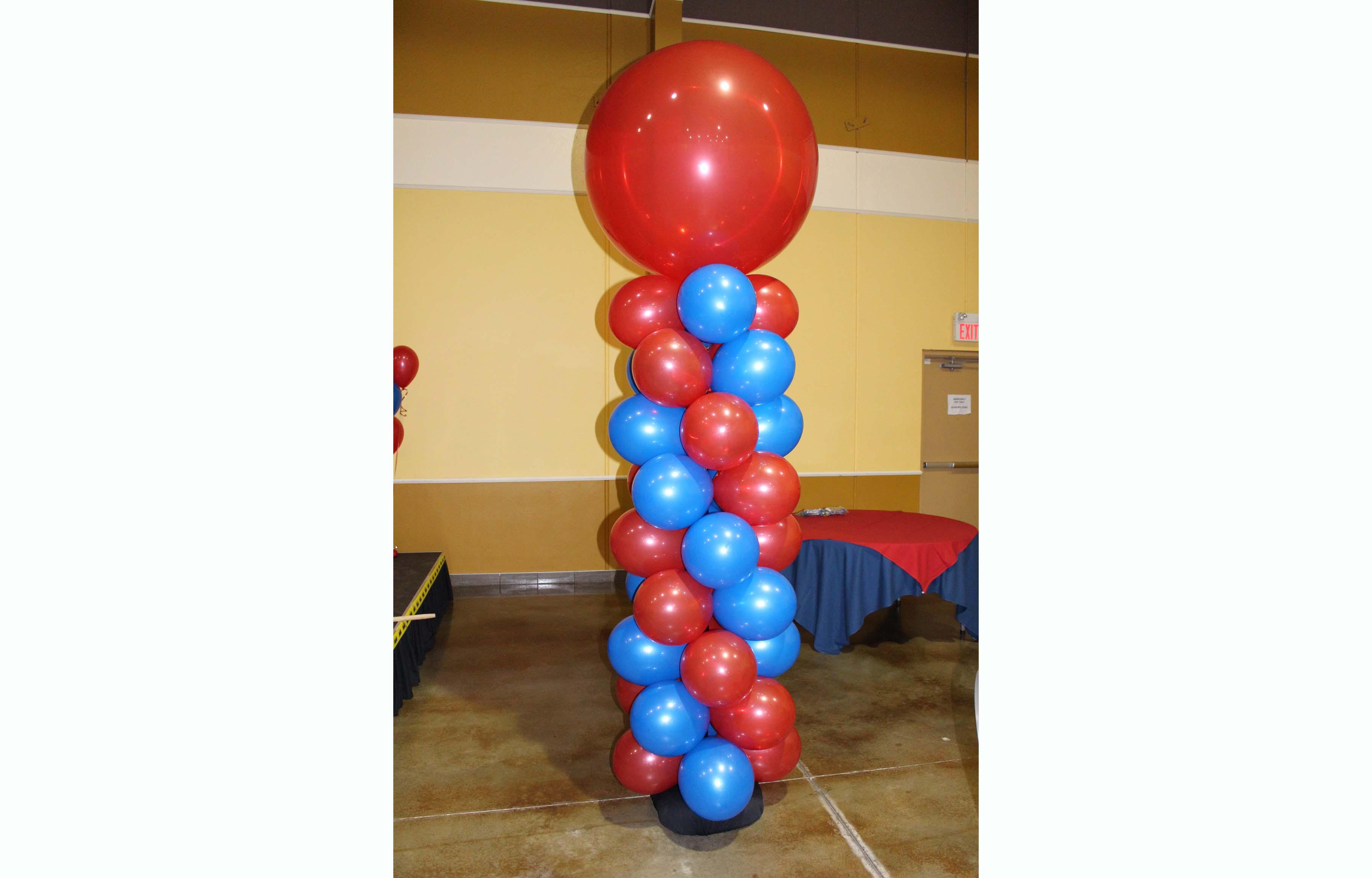 Balloon decor balloon twister edmonton calgary for Balloon decoration gallery