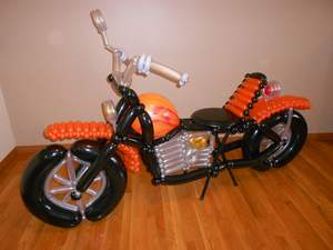 Harley Davidson Bike Balloon